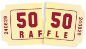 50/50 Raffle Tickets On Sale