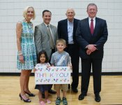 Donors Recognized for Gymnasium Renovation
