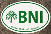 Barber National Institute Car Magnet