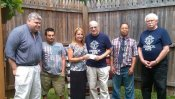 Knights of Columbs Council 425 Present Donation to Corry Campus