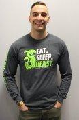 Eat Sleep Beast Long Sleeve Shirt