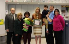 ELBS Teacher Receives Golden Apple Award
