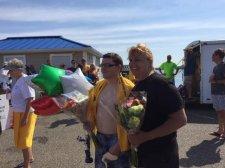 Life Sharing Member Completes Bay Swim