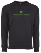Barber National Institute Black Crew Neck Pullover