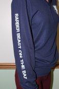 Beast Navy 1/4 Zip Pullover