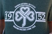 Barber National Institute Heather Green T-Shirt